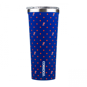 Corkcicle University of Florida Polka Dot 24 OZ Tumbler