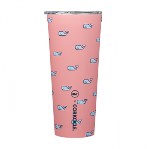 Corkcicle Vineyard Vines Whales Repeat 24 oz Tumbler