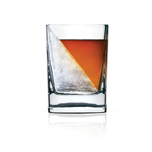 Corkcicle Whiskey Wedge - Double Old-Fashioned Rocks Glass And Ice Mold