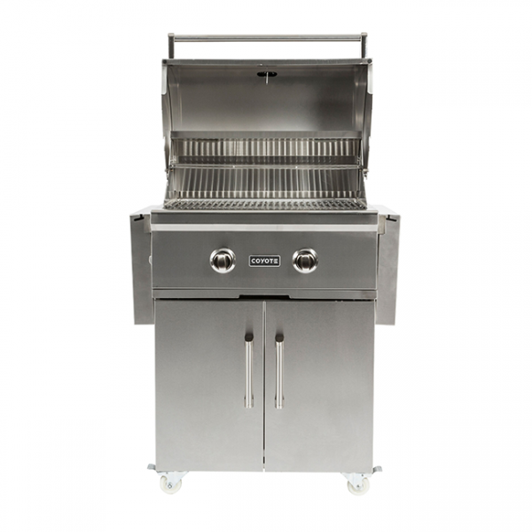 coyote outdoor living 28 inch gas grill