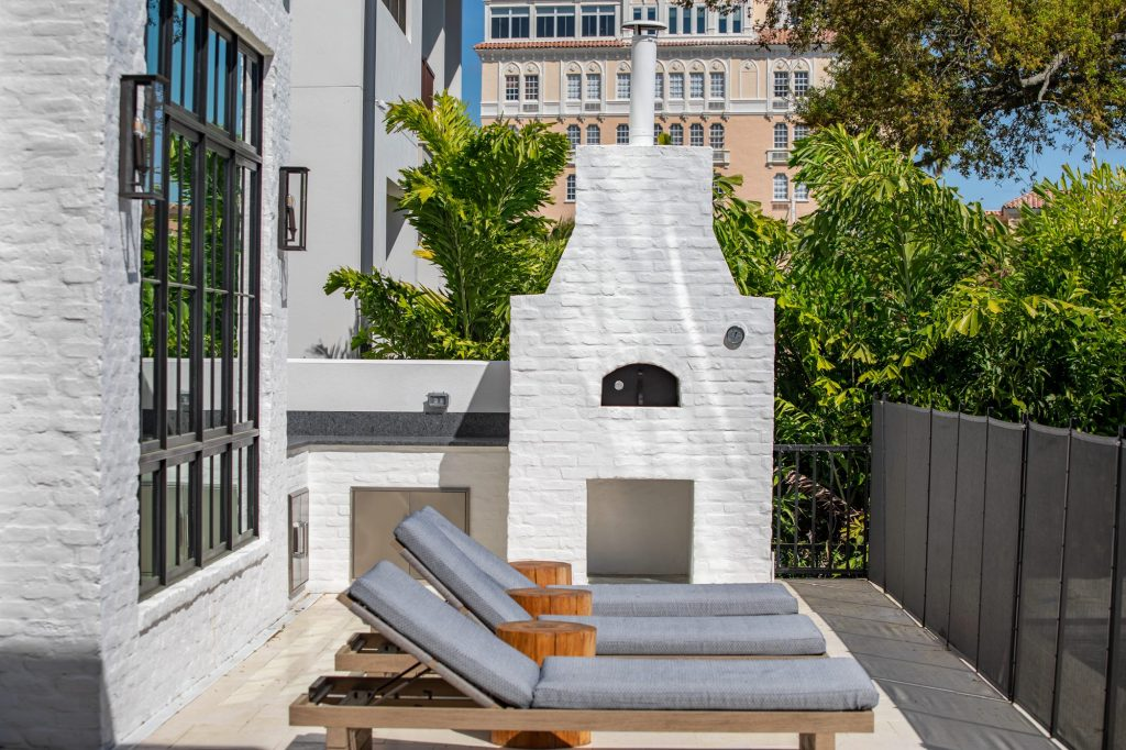 Custom Brick Oven Pizza Oven In South Tampa