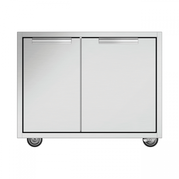 DCS 30-Inch Grill CAD Cart With Access Drawers For Series 7 or Series 9 Grills (Shelves Not Included)
