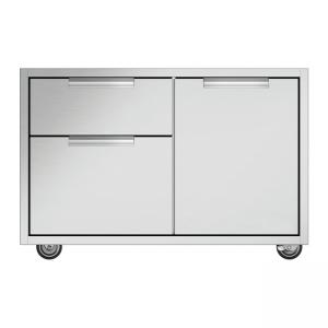 DCS 36-Inch Grill CAD Cart With Access Drawers For Series 7 or Series 9 Grills (Shelves Not Included)