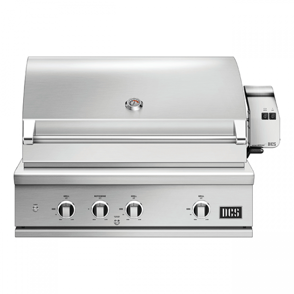 DCS Grills Series 9 36-Inch Gas Grill with Rotisserie and Charcoal