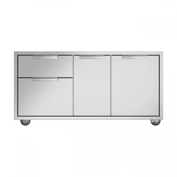 DCS 48-Inch Grill CAD Cart With Access Drawers For Series 7 or Series 9 Grills (Shelves Not Included)