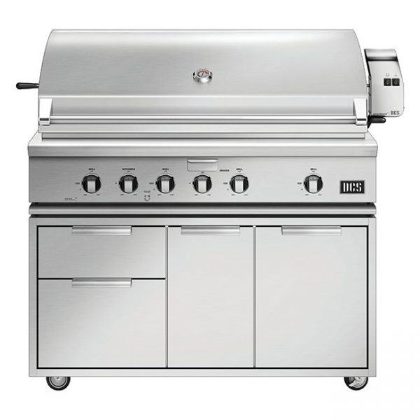 DCS Grills Series 7 48-Inch Gas Grill with Rotisserie On Cart