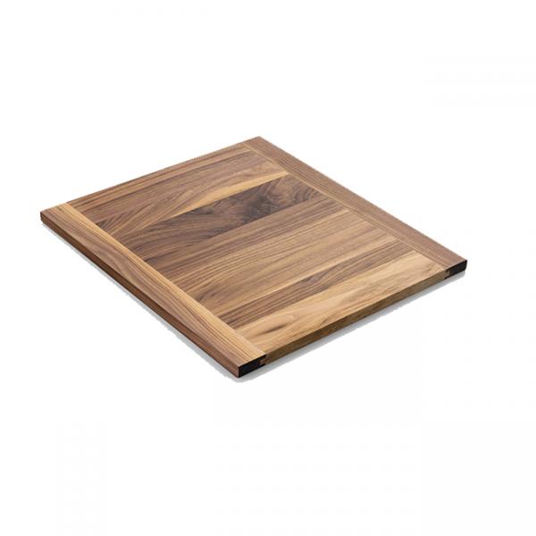 DCS Grills Dark Walnut Cutting Board CAD Cart Side Shelf Insert