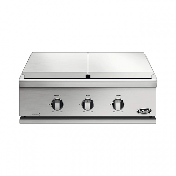 dcs grills griddle and side burner