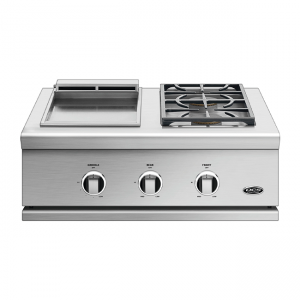 DCS Grills 30-Inch Series 9 Double Side Burner & Griddle Combo