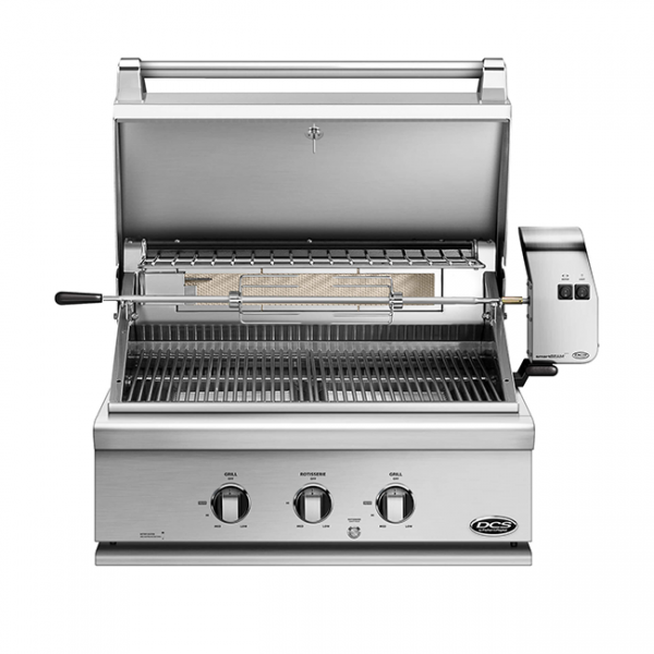 DCS Grills 30 inch grill rotisserie