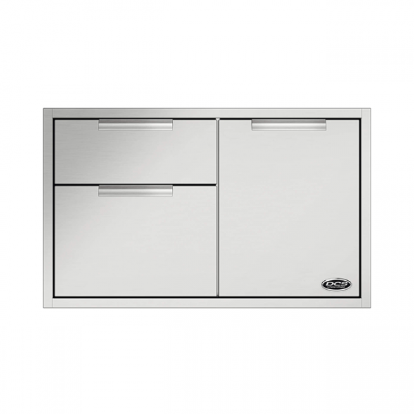 dcs grills built-in access drawers