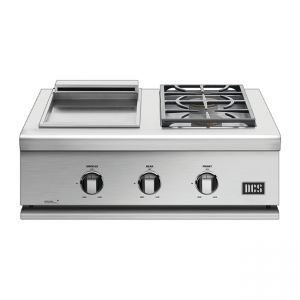 DCS Grills Series 7 30-Inch Double Side Burner & Griddle Combo