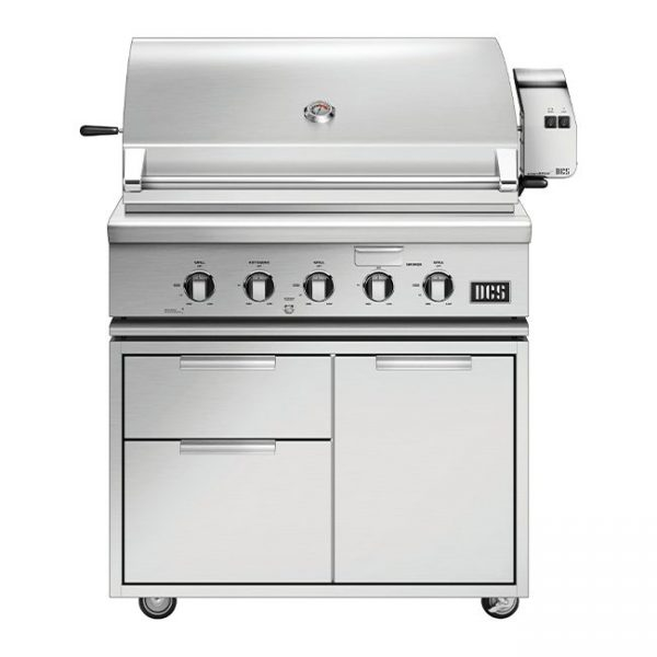 DCS Grills Series 7 36-Inch Gas Grill On Cart