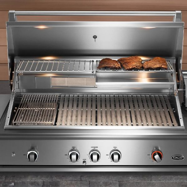 dcs grills cooking space