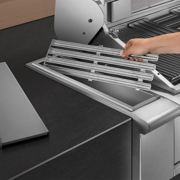 dcs grills storage compartment