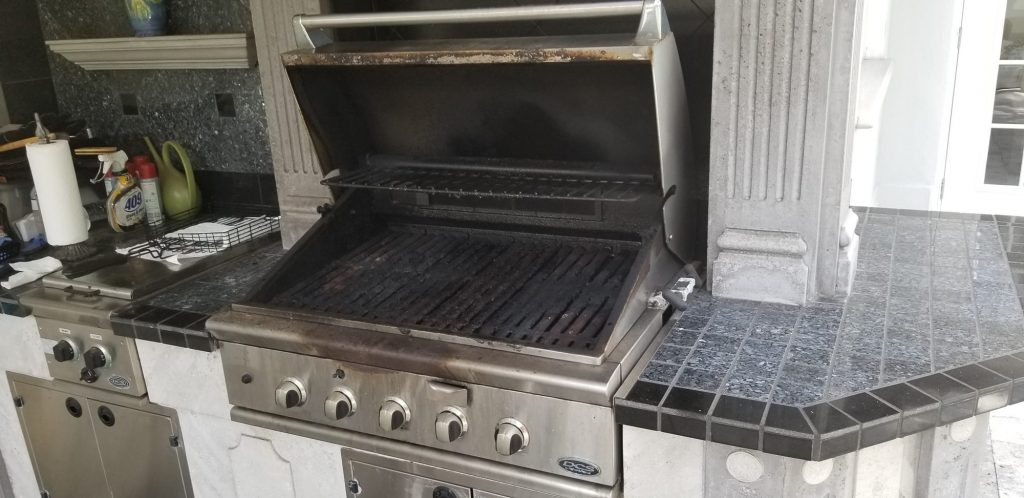 outdoor kitchen replacement