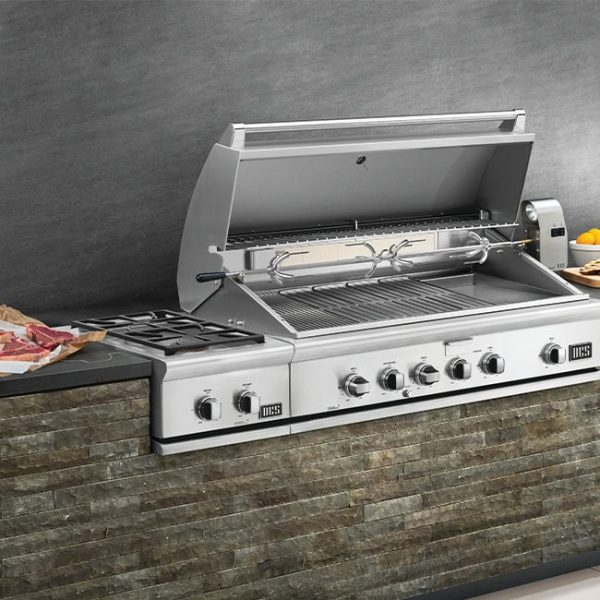 DCS Grills Series 7 14-Inch Double Side Burner Outdoor Kitchen