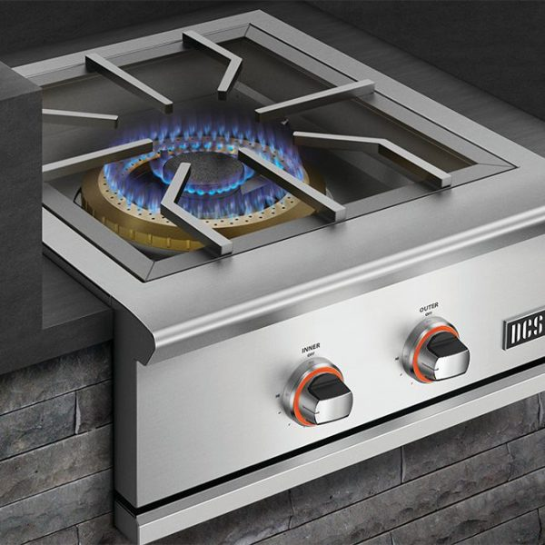 DCS Grills Series 9 24-Inch Built-In Power Burner Flame