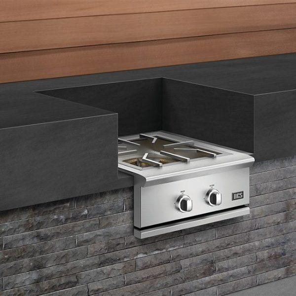 DCS Grills Series 9 24-Inch Built-In Power Burner Outdoor Kitchen