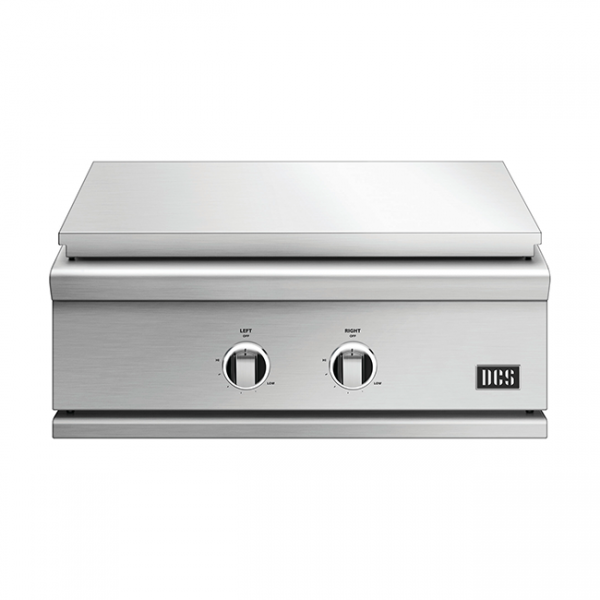 DCS Grills Series 9 30-Inch Built-In Gas Griddle Lid On
