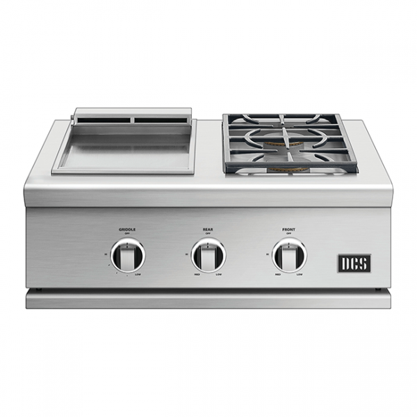 DCS Grills Series 9 30-Inch Double Side Burner & Griddle Combo