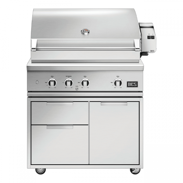 DCS Grills Series 9 36-Inch Gas Grill On Cart