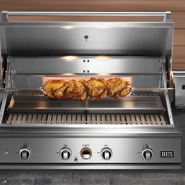 DCS Series 9 Gas Grill Rotisserie