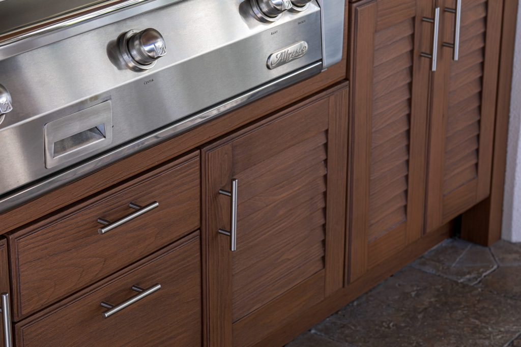 Encapsulated Polymer Outdoor Cabinetry