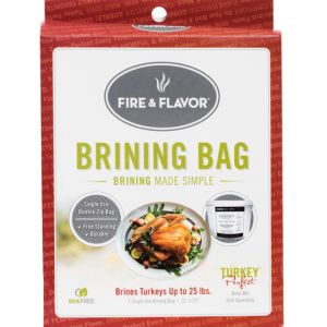 Fire & Flavor Turkey Brining Bag
