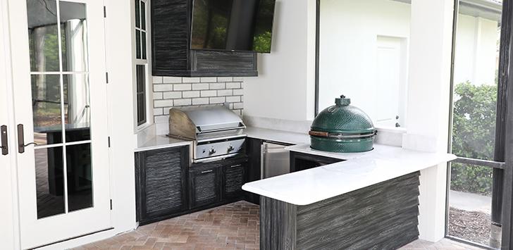 Outdoor Kitchen Builder Grill Just Grillin