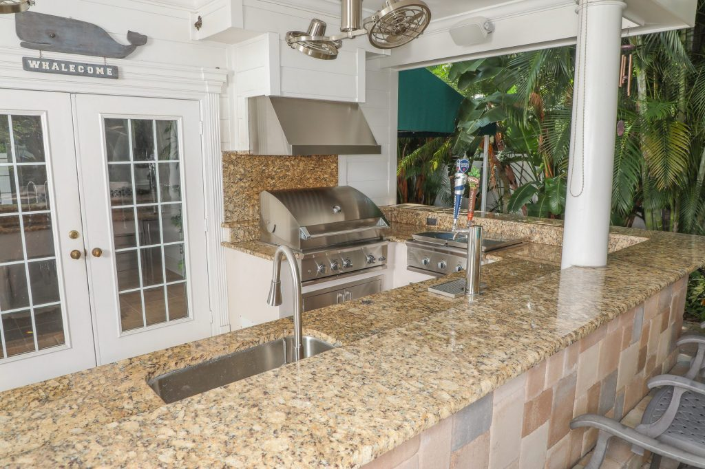 outdoor kitchen replacement appliances