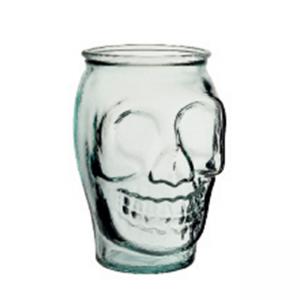 Skull 18 oz. Recycled Glass