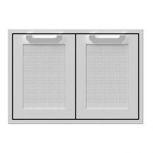 Hestan 30 Inch Double Access Doors Stainless Steel