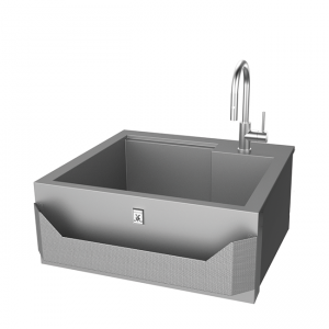 Hestan Outdoor 30-Inch Insulated Sink with Faucet