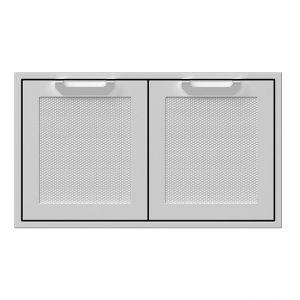 Hestan 36 Inch Double Access Doors Stainless Steel