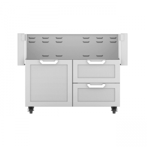 Hestan Outdoor 42-Inch Tower Gas Grill Cart Stainless Steel