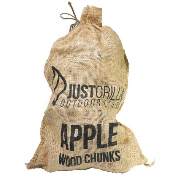 Just Grillin Outdoor Living Apple Wood Chunks