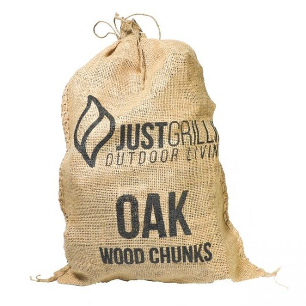 Just Grillin Outdoor Living Oak Wood Chunks