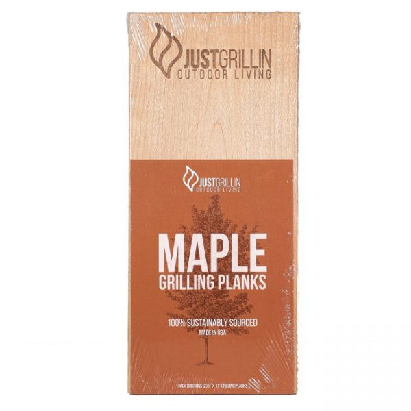 Just Grillin Maple Grilling Planks