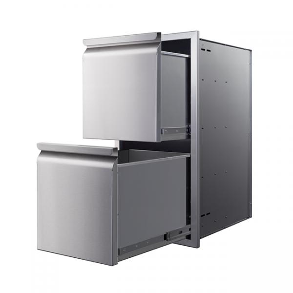 memphis grills 2 drawers