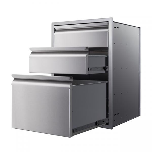 memphis grills 3 drawers
