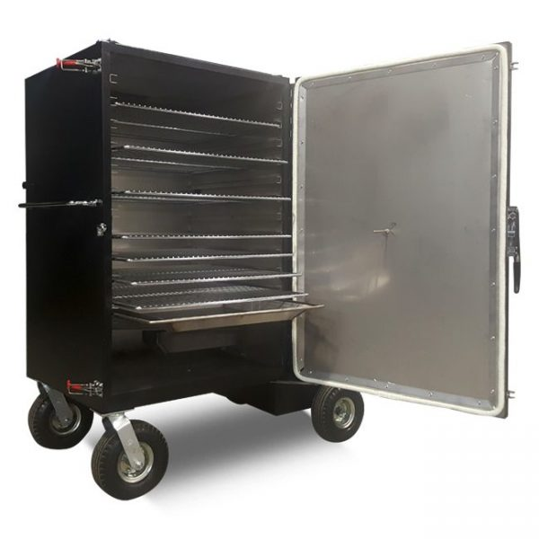gravity feed smoker