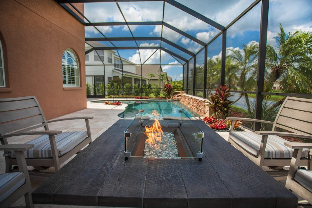 Gas Fire Pit   Tampa, Florida