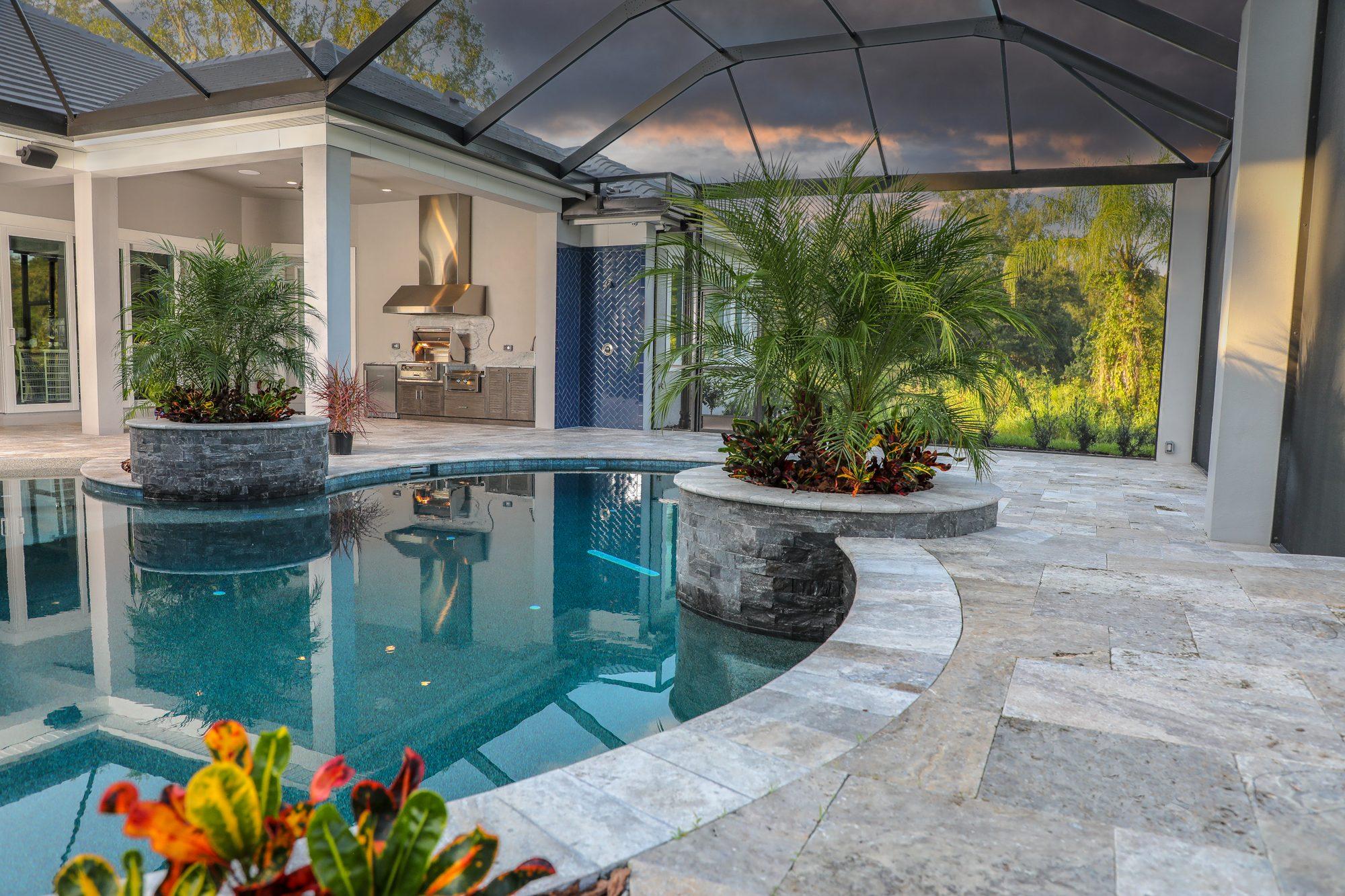 Custom Outdoor Kitchen | Just Grillin Outdoor Living | Lutz, Florida