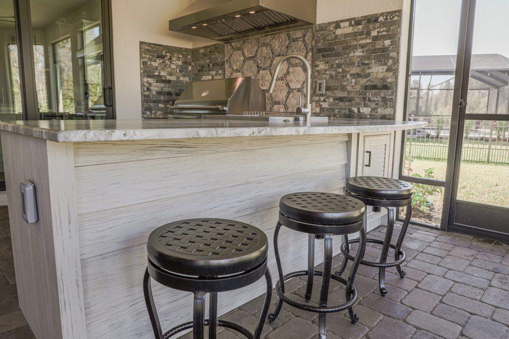 Outdoor Kitchen In Odessa, Florida