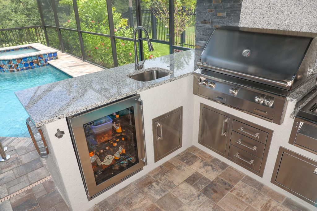 alfresco grills outdoor kitchen