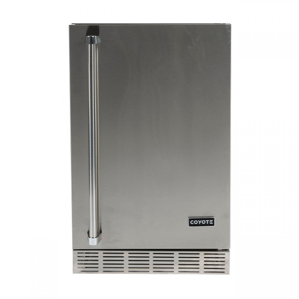 Coyote Outdoor Living 21-Inch Outdoor Rated Compact Refrigerator