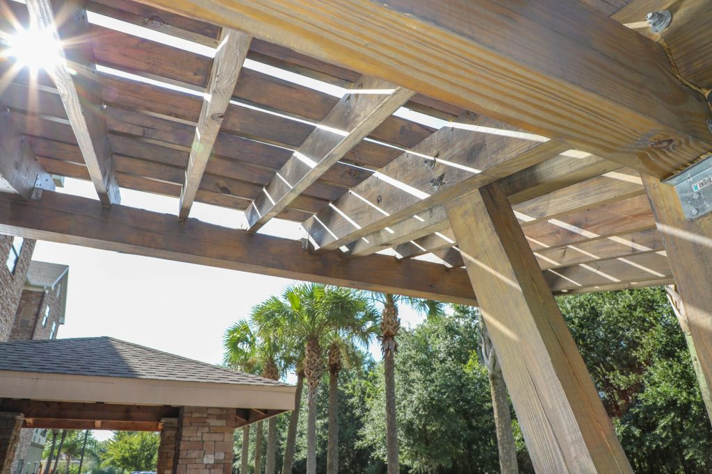 Outdoor Kitchen, Fire Pit & Pergola in Tampa | Just ...