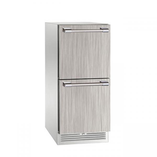 Perlick 15 Inch Signature Series Outdoor Refrigerator Drawers