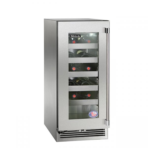 Perlick 15 Inch Signature Series Outdoor Wine Reserve Refrigerator